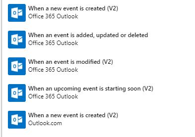 Trigger an Azure runbook with an Office365 Calendar Appointment