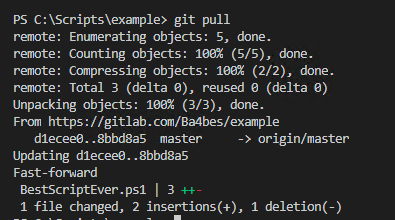 Step by step: Start using GIT for PowerShell scripts - 4bes nl
