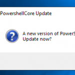 Get-PwshUpdates: Check if there is a PowerShell update available and install it