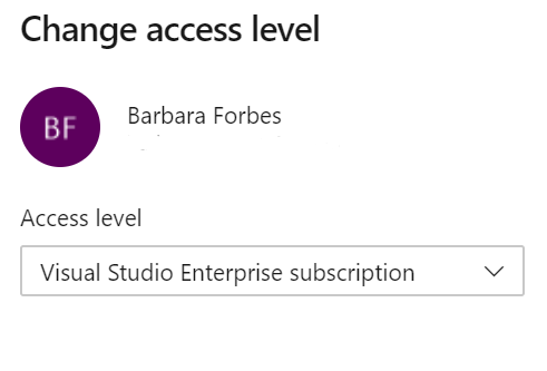 Visual studio enterprise level