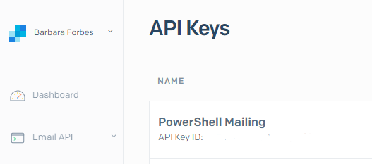 Send email from PowerShell with SendGrid