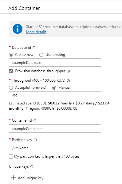 Azure PowerShell Function Apps with Cosmos DB