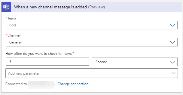trigger: when a new channel message is added
